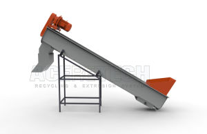 Single Screw Extruder Recycling Machine in Plastic Woven-Bags Washing Line pictures & photos