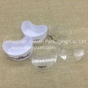 Disposable Plastic Cup Dessert Cup in Black Transparent White pictures & photos