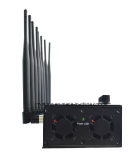 8 Bands Adjustable WiFi Isolator GPS Blocker Cell Phone Jammer pictures & photos