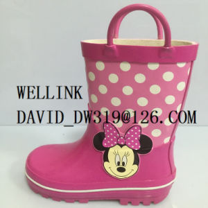 Cute Cartoon Print Waterproof PVC Rainboots