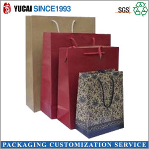 Custom Kraft Paper Bags Wholesale Customized Logo pictures & photos