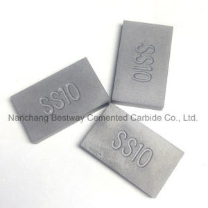 Carbide Ss10 Tips for Cutting Stone (20mmx12mmx3.4mm) pictures & photos