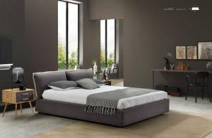 Bedroom Furniture New Elegant Design Modern Fabric Bed (HC862C) pictures & photos