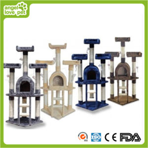 Luxury Fashion Cat Tree Cat Plush Scratching Tree pictures & photos