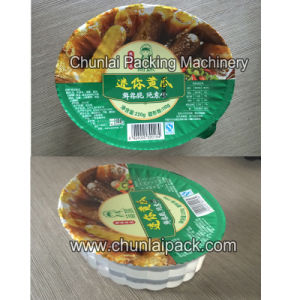 Paste Vacuum Map Packaging Machine pictures & photos