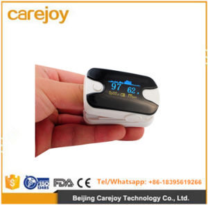 Portable OLED Finger Fingertip Pulse Oximeter SpO2 Oxygen Machine-Candice pictures & photos