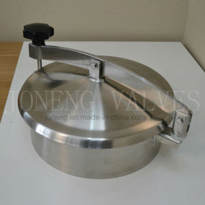 Stainless Steel Sanitary Round Non Pressure Manway pictures & photos