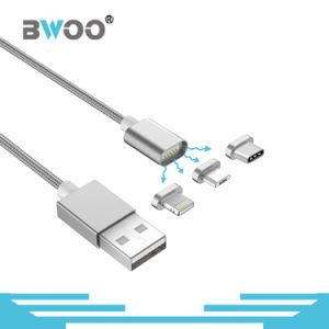 Hot Selling 3 in 1 Magnetic USB Data Cable pictures & photos