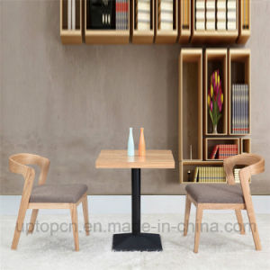 Wooden Restaurant Furniture Set with Square Table (SP-CT629) pictures & photos