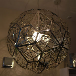 European Polygon Stainless Steel Round Pendant Lamp for Decoration pictures & photos