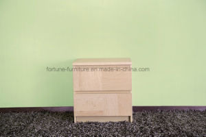 Bedroom Furniture/Wooden UV Lacquered Nightstand (N1012) pictures & photos