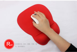 Red Momory Foam Mouse Pad