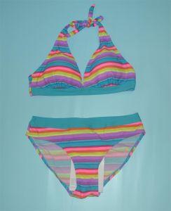 Fashion Bikini Women Swimwear with Stripes pictures & photos