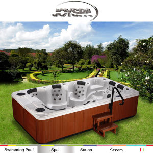 Hot Sell Xxxl Sexy Full HD Perfect TV Sex Hot Tub Portable Hot Tub pictures & photos