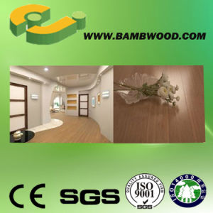 Carbonized Click Strand Woven Bamboo Flooring (CSW 01) pictures & photos