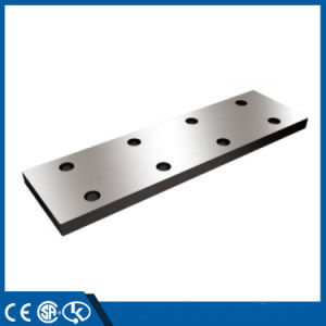 Elevator Guide Rail Fishplate Supplier pictures & photos