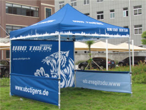 Sublimation 3 X 3m Aluminum Frame Portable Folding Canopy Tent pictures & photos