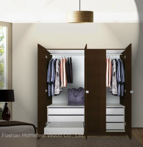 Bedroom Wardrobe Cabinet Design for Home (HF-EY0904) pictures & photos