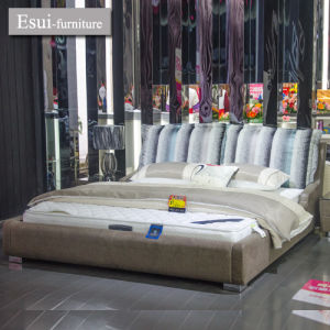 Family Sweet Hot Selling Genuine Leather Bed