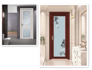 High Grade Aluminum Swing Door for Bathroom pictures & photos