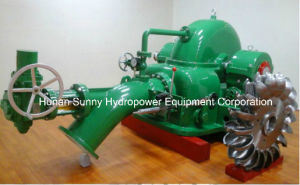 Hydro (Water) Turgo Turbine Hydroelectric-Generator 50-350m Head / Hydropower pictures & photos