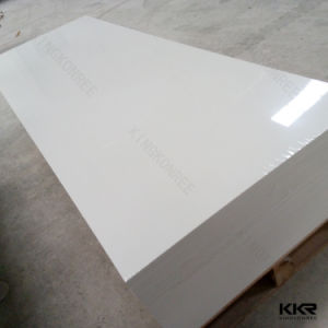 Wholesale Pure White Acrylic Solid Surface Sheets pictures & photos