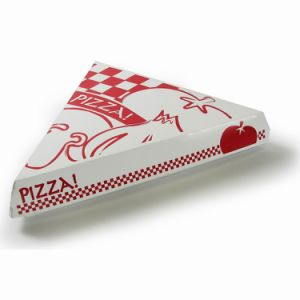 Food Grade White Cardboard Custom Paper Pizza Delivery Box pictures & photos