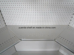 Top Quality Customized Steel Supermarket Corner Wall Shelf Rack Manufacture pictures & photos