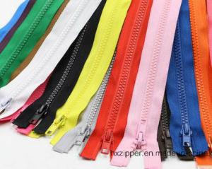 5# Open End Plastic Zipper for Bag, Garment and Shoe