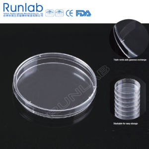 CE Approved 90*15mm Disposable Plastic Culture Petri Dish pictures & photos