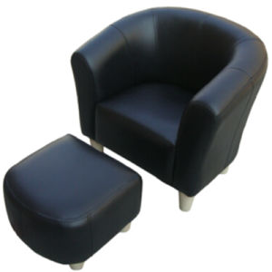 Children Furniture/Leather Sofa/Chair and Stool (SXBB-06) pictures & photos