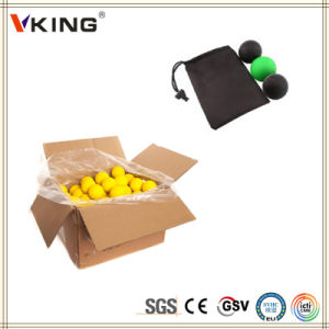 China Made Silicone Rubber Lacrosse Ball pictures & photos