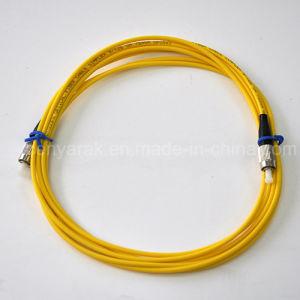 Optical Fiber Patch Cord PC 3m 3.0/2.0mm 9/125 FC-FC pictures & photos