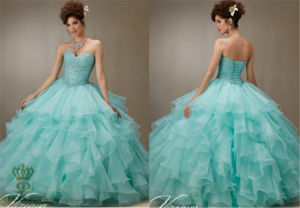 The New Party Ladies Organza Tutu Prom Princess Dress pictures & photos