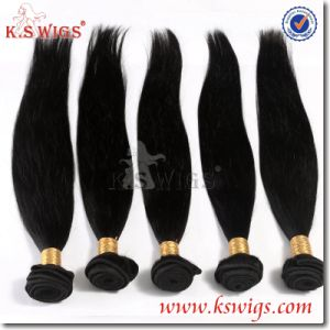 Unprocessed Human Hair Extensoin Peruvian Human Hair pictures & photos