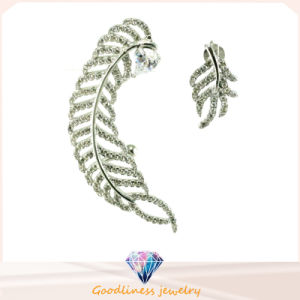 Good Quality and 2015 Latest Wholesale 925 Silver Jewelry Zircon Sterling Silver Earring (E6297) pictures & photos