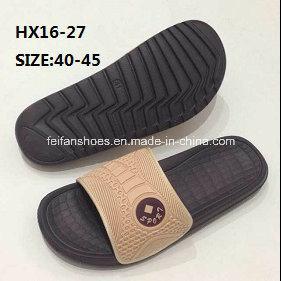 Men′s Summer Beach Slip-on Slipper Outdoor Slipper EVA Simple Slipper Sandal (HX16-27) pictures & photos
