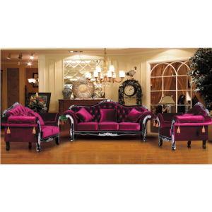 Leather Sofa for Living Room Furniture and Hotel Furniture (987A) pictures & photos