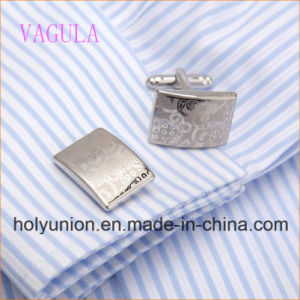 AAA Quality VAGULA   Laser Cufflinks Gift Cuff Links Luxury Men Cufflings pictures & photos
