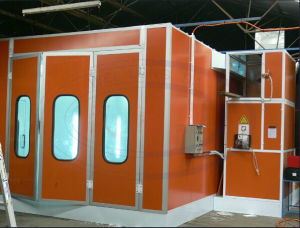 Wld8200 High Quality Car Spray Painting Cabin/Chamber/Oven/Paint Booth CE pictures & photos