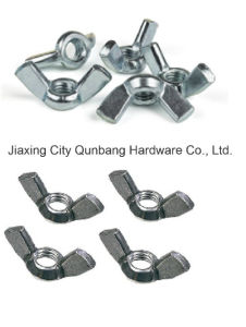 Wing Nuts DIN315 Zinc Plated Caron Steel M4-M24 Cl. 4.8/6.8/8.8 pictures & photos