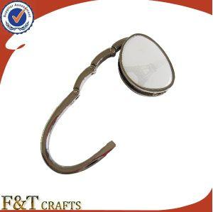 Promotional Custom Printing Logo Metal Purse Bag Hanger Hook pictures & photos