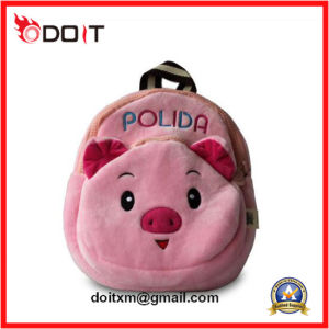 Lovely Pink Pig Plush Baby School Bag pictures & photos