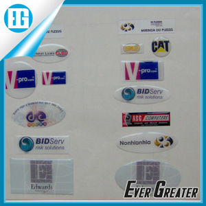 Customized Shape 3D Domed Stickers Gel Stickers OEM pictures & photos