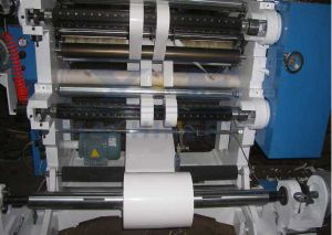 BOPP Plastic Film Slitting and Rewinding Machine with Tension Control pictures & photos