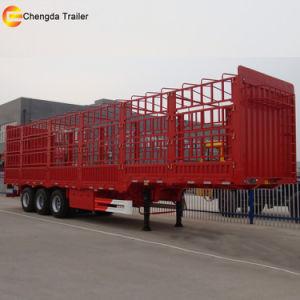 3 Axles Fence Cargo Livestock Trailer pictures & photos