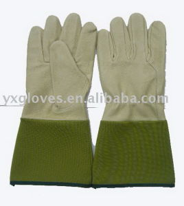 Long Cuff Glove-Cow Leather Glove-Work Glove pictures & photos