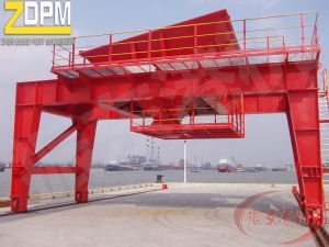 Dust Proof Orbit Hopper Working with Portal Crane pictures & photos
