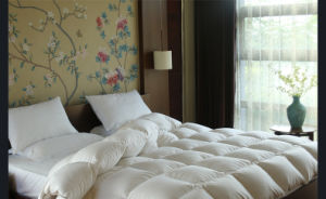 Luxury Soft Feeling White Duck Down Duvet for Hotel pictures & photos
