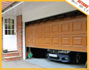 Blocks Style Wooden Color Garage Door pictures & photos